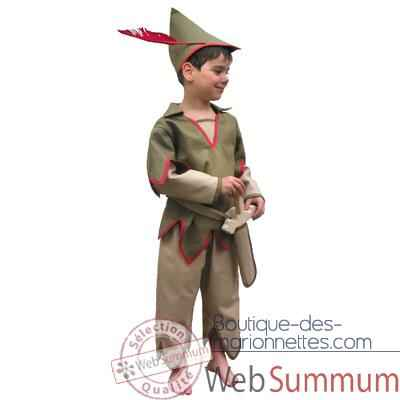 Bandicoot-C27-Costume Peter pan 2/4 ans