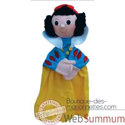 Video Marionnette a main Anima Scena - Blanche Neige - environ 30 cm - 22092b