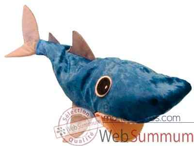 Video Marionnette a main Anima Scena - Le requin CLAP - environ 30 cm - 32106a