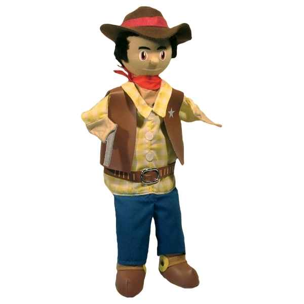 Marionnette a main cow boy Au Sycomore -MA35029