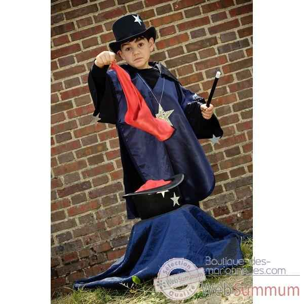 Costume Poncho Magicien  6-8 ans