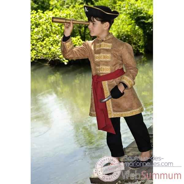 Veste costume Pirate 6-7 ans