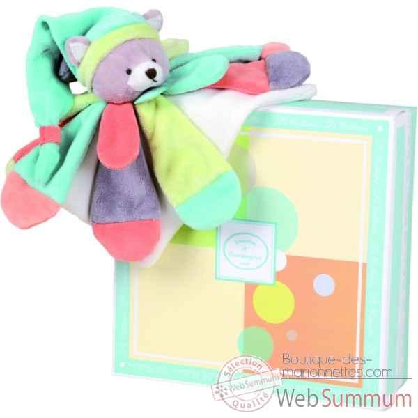 marionnettes collector chat peche menthe doudou dc2378 de marionnette animaux. Black Bedroom Furniture Sets. Home Design Ideas
