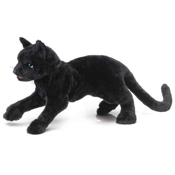chat noir Folkmanis -2987