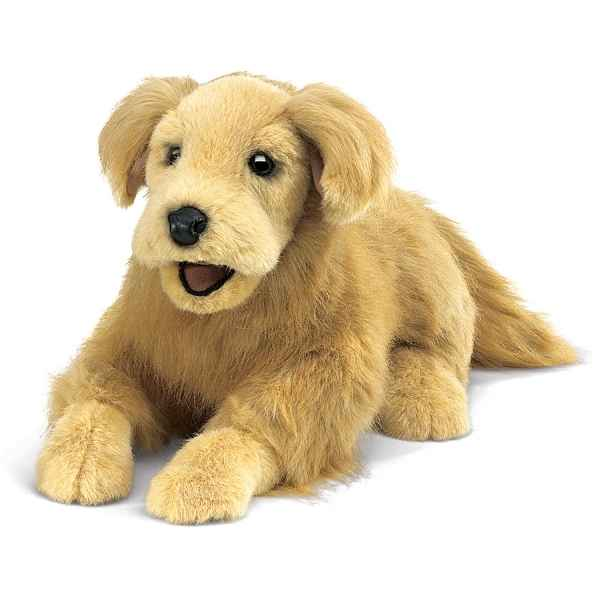 chien Golden retriever Folkmanis -2998