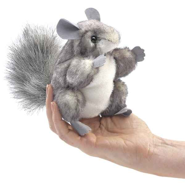 Marionnette a doigt chinchilla Folkmanis -2759