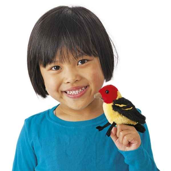 Marionnette a doigt tanager Folkmanis -2763