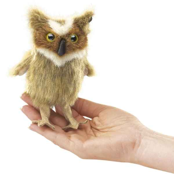 Hibou Grand Duc Folkmanis -2752