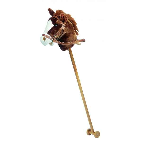 Video Peluche Cheval baton musical peluche -ho1268