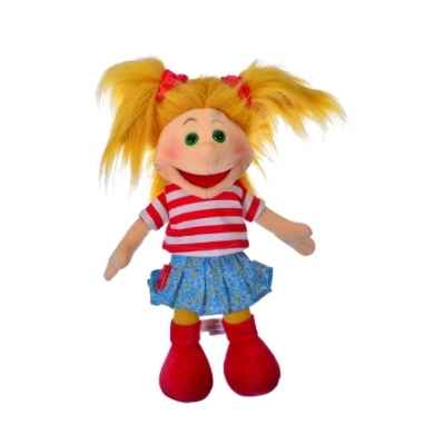Marionnette a main ventriloque gisell 35cm Living Puppets -W706
