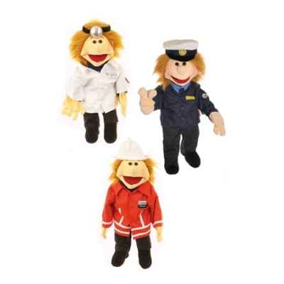 Marionnette Ricky ts les metiers Living Puppets -CM-W108