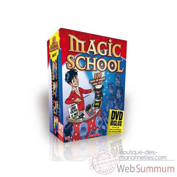 Magic school 100 tours Oid Magic avec DVD-100 D