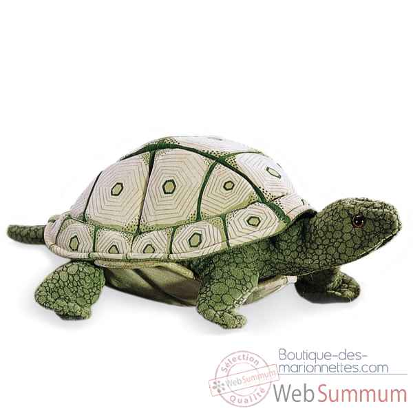Marionnette peluche, Tortue ecaillee -2181 -1