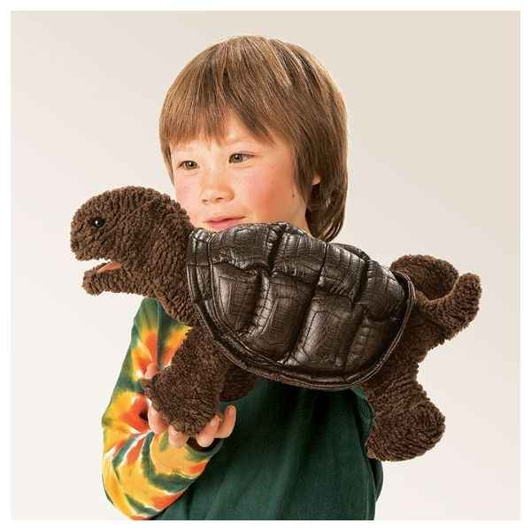 Marionnette Peluche Folkmanis Bebe Tortue des Galapagos -2840
