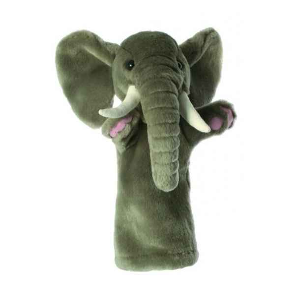 Video Grande marionnette peluche a main - Elephant-26012