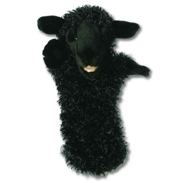 Video Grande marionnette peluche a main - Mouton noir-26005