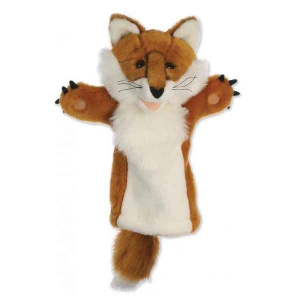 Video Grande marionnette peluche a main - Renard-26013