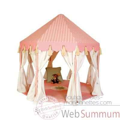 Video Pavillon tissu rose enfant - PAVRO