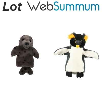 Promotion Marionnette animaux du froid The Puppet Company -LWS-69