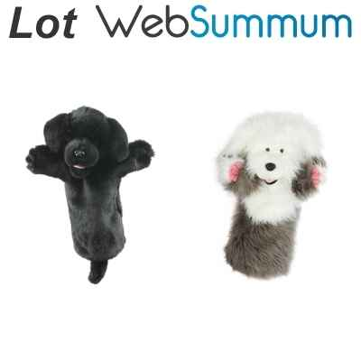 Promotion Marionnette chien The Puppet Company -LWS-70