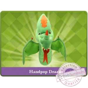 Marionnette peluche dragon sprockjesboom e01203