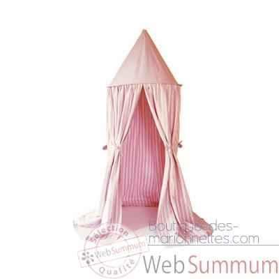 tente rose suspendu enfant - HANRO