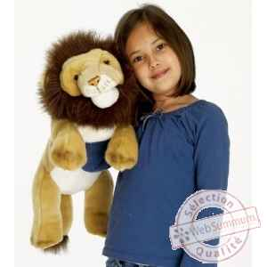Grande peluche marionnette lion -PC007305 The Puppet Company