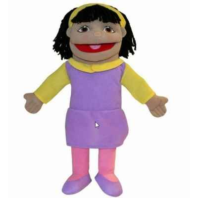 Petite fille (peau olive) the puppet company -pc002074