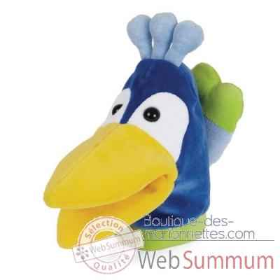 Marionnette looney bird zoo paon -144100